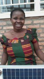 Close-up photo of the entrepreneur Uzamukunda Marie Sandrine.